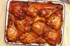 Sweet 'n Sticky Apricot Chicken