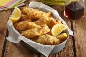 Air-Fryer Fish Sticks