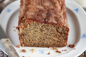 Brown Sugar-Cinnamon Banana Bread