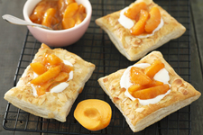 Puff Pastry-Apricot Squares