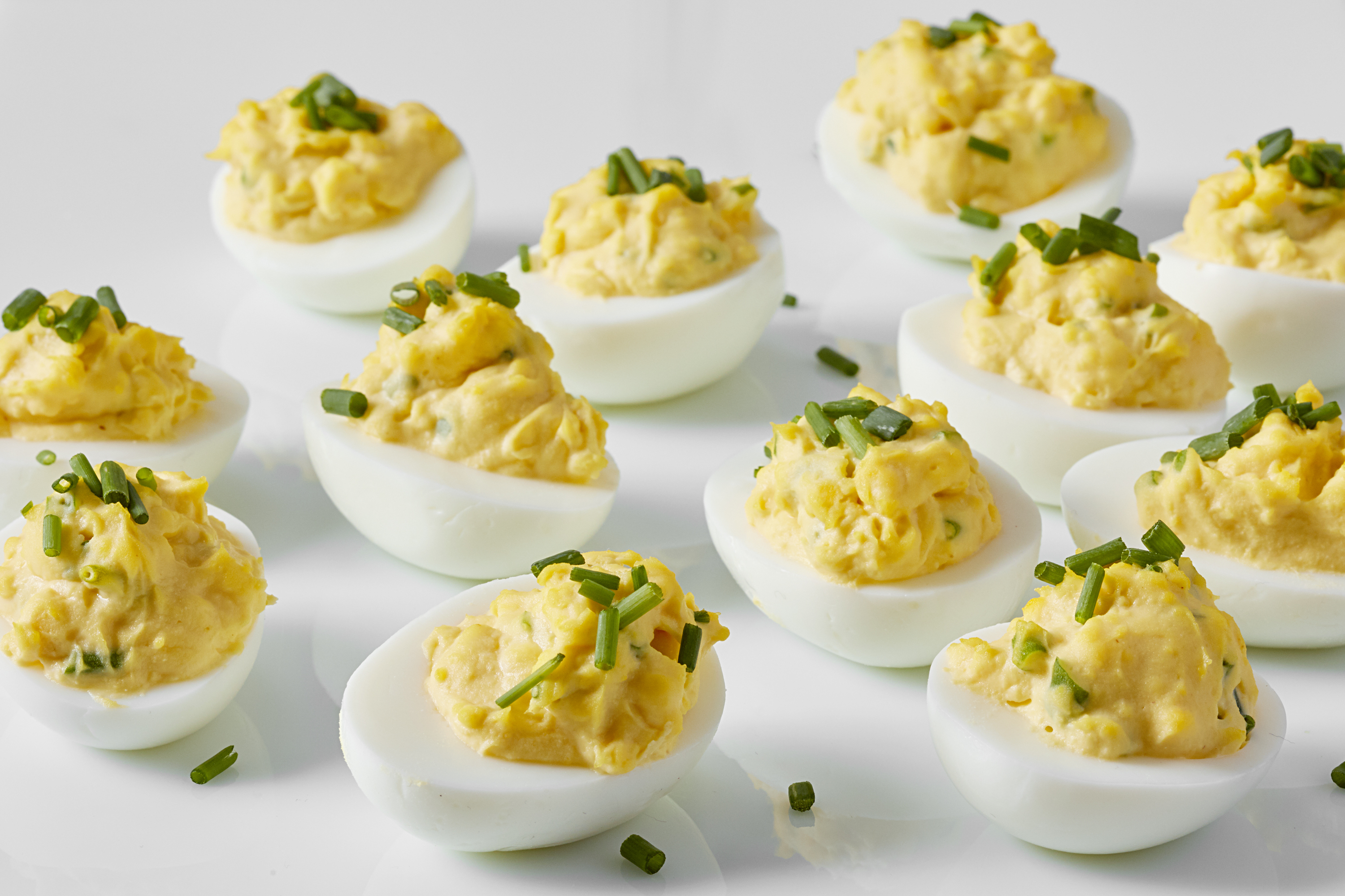 Lemon Deviled Eggs