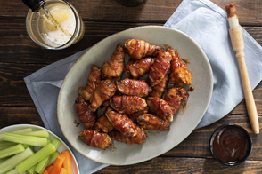 Bacon-Wrapped Chicken Wings