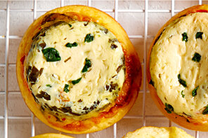 Copycat Red Pepper and Spinach Egg Cups