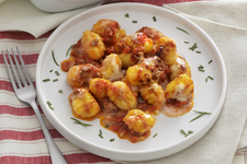 Baked Gnocchi with Spicy Meat Sauce