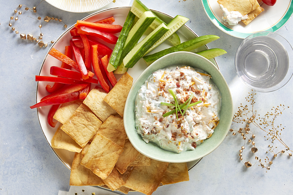 Cheesy Bacon-Ranch Dip
