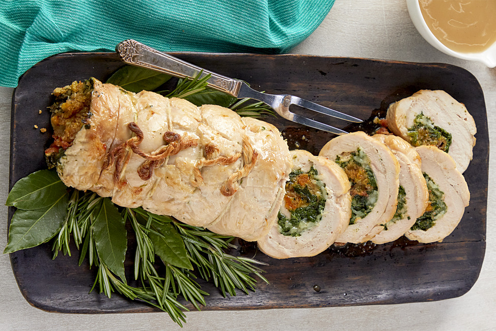 Turkey Roulade My Food And Family