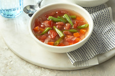 Green Bean and Tomato Soup