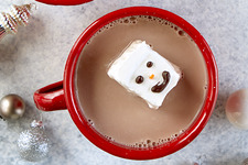 Snowman Hot Chocolate Topper