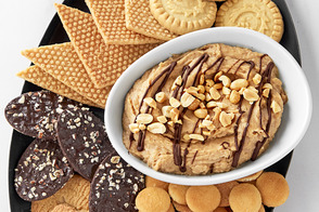 Peanut Butter-Chocolate Hummus