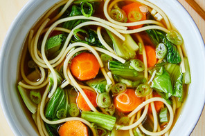 Toasted Sesame Noodle Soup