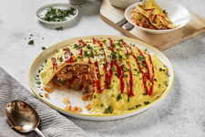 Omurice (Japanese Stir-Fried Rice with Eggs)
