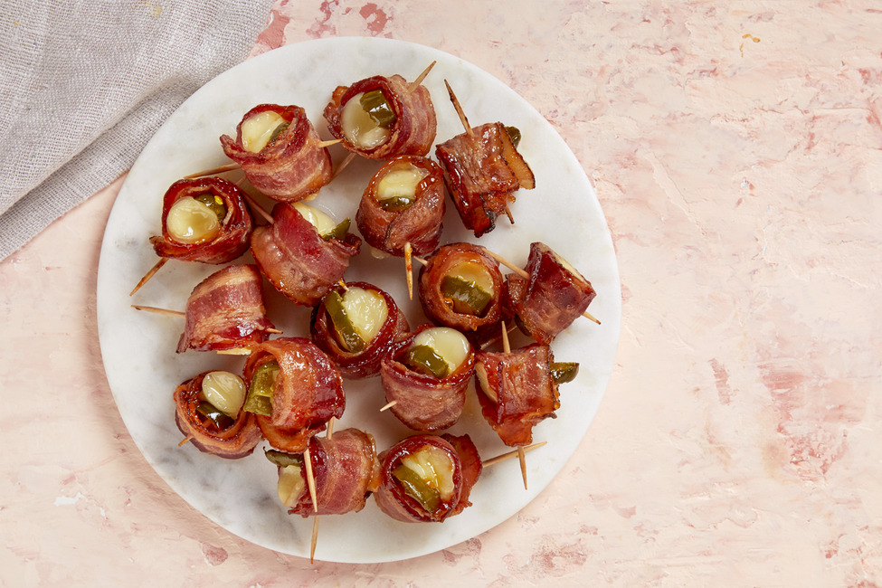 Bacon-Wrapped Cheese Bites