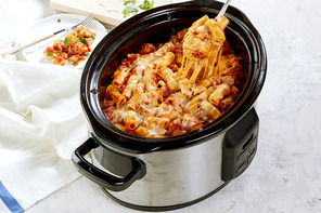 Slow-Cooker 'Baked' Ziti