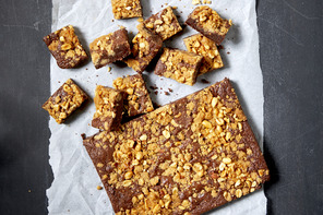 Chocolate-Peanut Butter Brookies