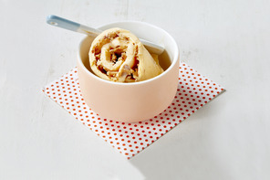 Orange and Cream Rolled Ice Cream