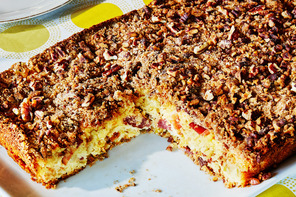 Apple-Bacon Coffee Cake