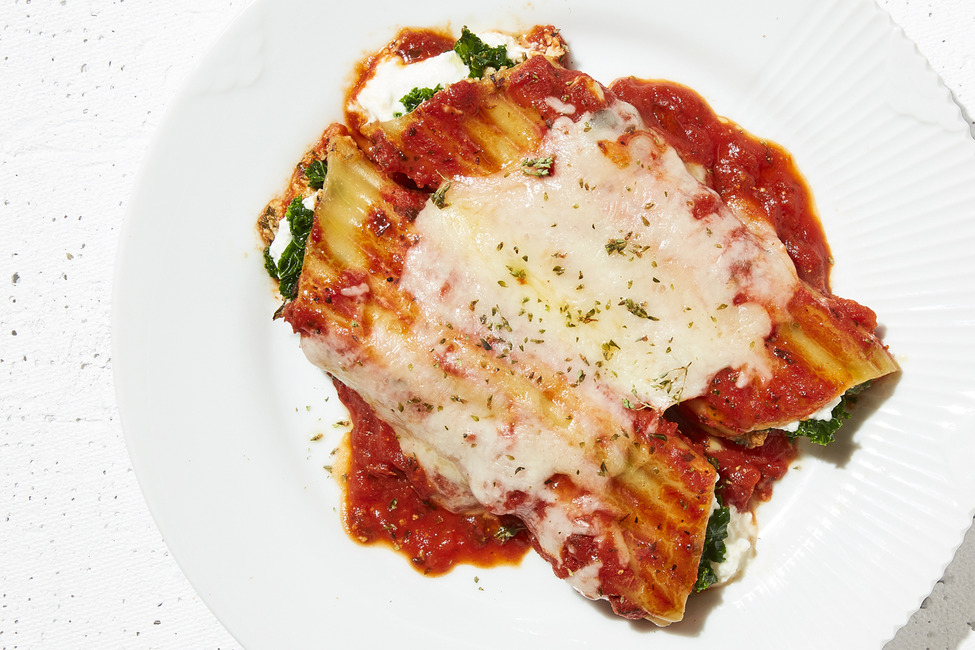 No-Boil Slow-Cooker Manicotti