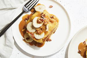Slow-Cooker Caramel-Banana French Toast