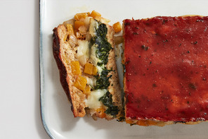 Veggie-Stuffed Turkey Meatloaf