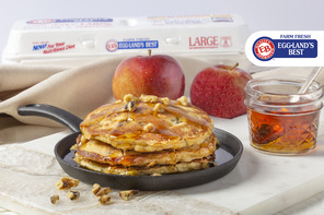 Sausage, Apple & Walnut Johnnycakes