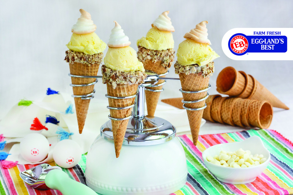 World's Fair Lemon Meringue Ice Cream Cones