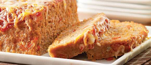 Cheesy Turkey Meatloaf