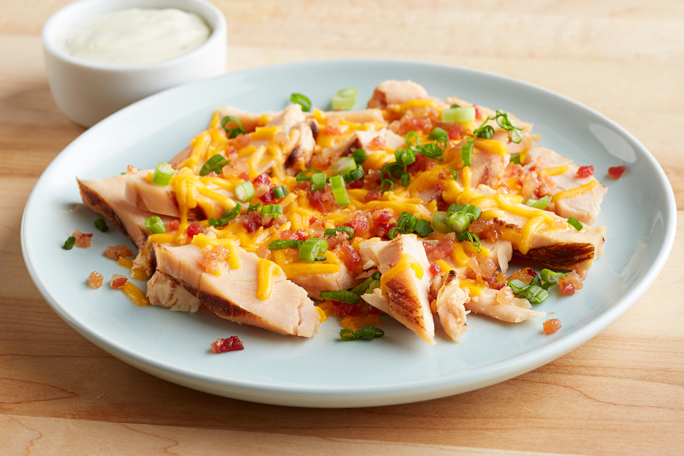Loaded Chicken Breast Strips