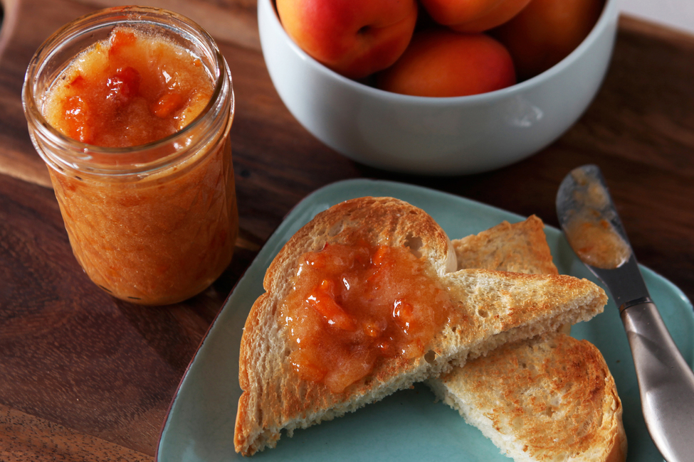 30 Minutes to Homemade SURE.JELL Apricot Freezer Jam