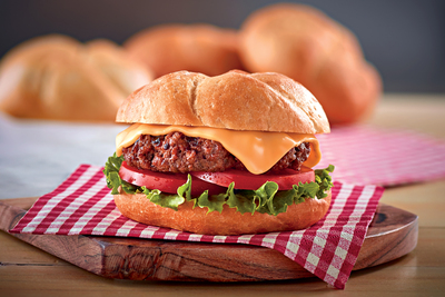 Cheesy Steakburger Recipe