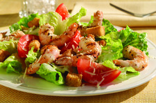 Grilled Shrimp-Caesar Salad