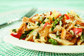 Chicken and Penne Pasta with Gorgonzola