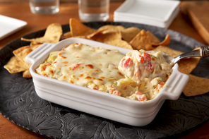Hot Artichoke Hearts and Red Pepper Dip