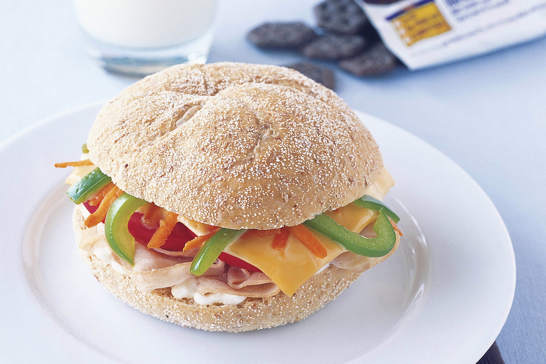 California Turkey & Vegetable Sandwich