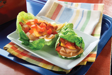 BLT Turkey Lettuce Wraps