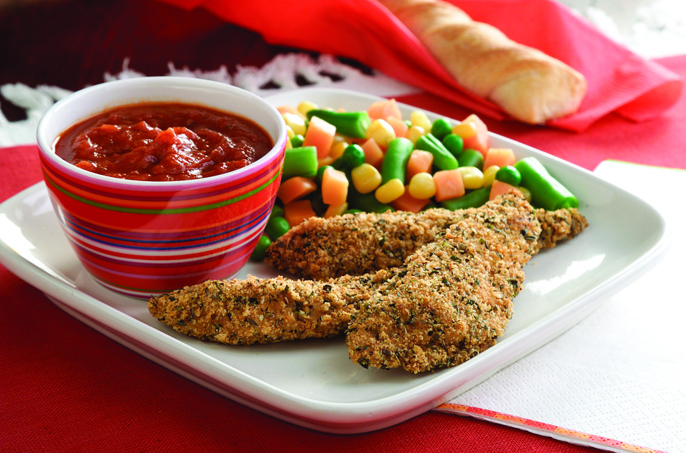 Pizza Fingers Meal with Dipping Sauce