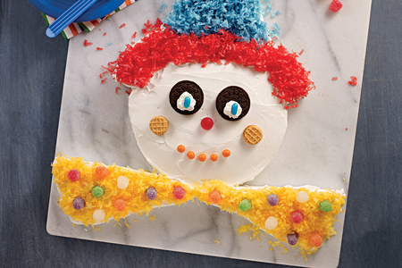 Birthday Clown Cake