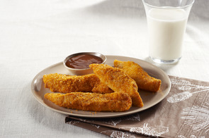 Easy Chicken Fingers with Parmesan