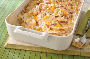 New-Look Scalloped Potatoes and Ham