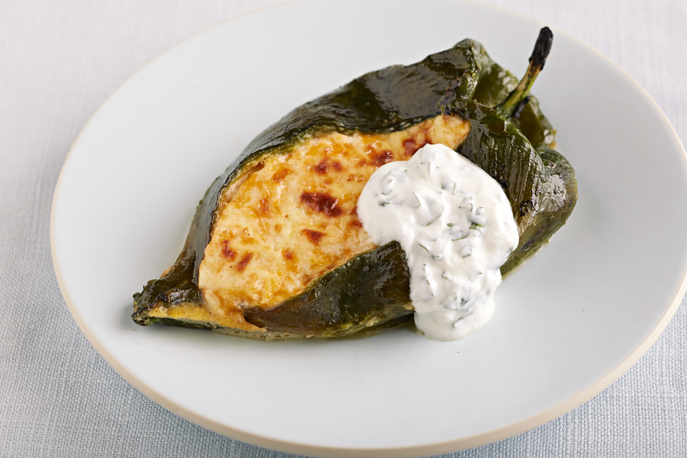 Oven-Baked Chiles Rellenos