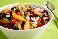 Kidney Bean and Orange Salad