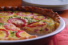 Canadian Bacon Quiche