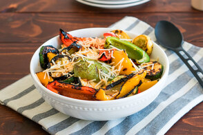 Grilled Parmesan Vegetables