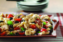 Antipasto Salad with Tortellini
