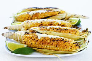 Parmesan Corn on the Cob