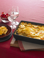 Cheesy Scalloped Potatoes and Carrots