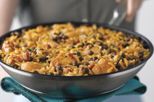 Chicken and Pigeon Peas Skillet Dinner