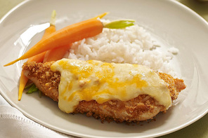 Crisp & Creamy Baked Chicken Recipe