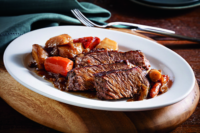 Hearty Pot Roast with Parsnips