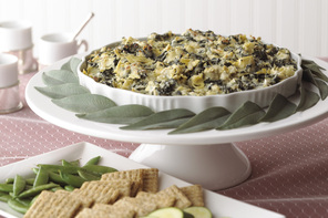 Easy Spinach Artichoke Dip with Cheese