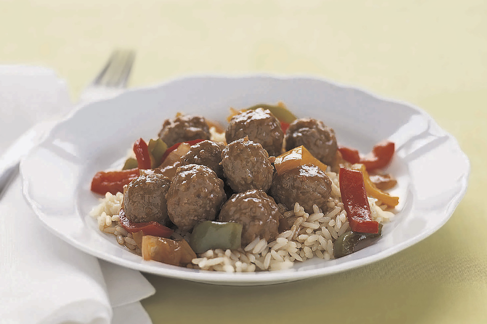 Simple Sweet and Sour Meatballs